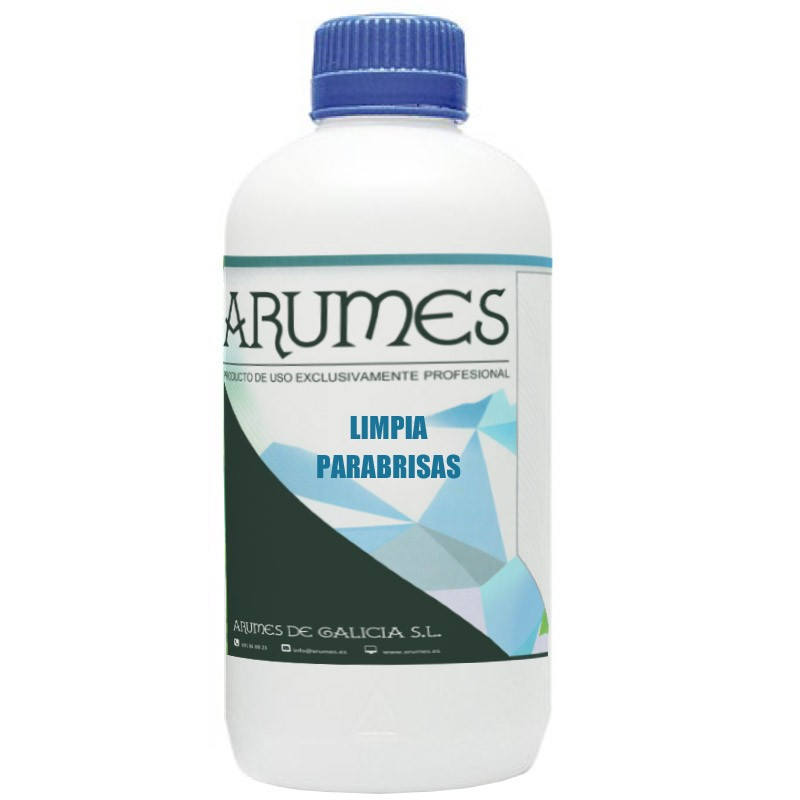 Limpia parabrisas y cristales en general Arumes, 1 litro