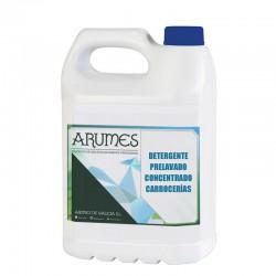 Detergente Concentrado para el pre-lavado de Carrocerías Arumes, envase 5 litros
