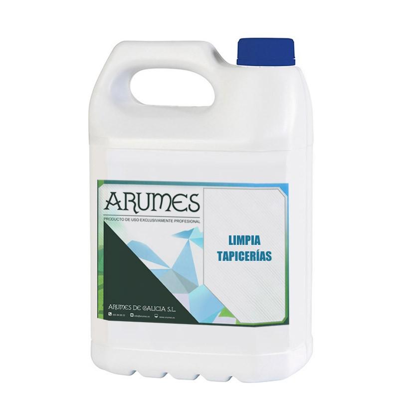 Limpia tapicerías para vehículos Arumes, en envase de 5 litros
