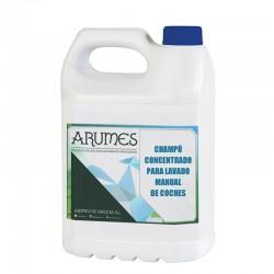 Champú concentrado para el lavado manual de coches Arumes, garrafa 5 litros