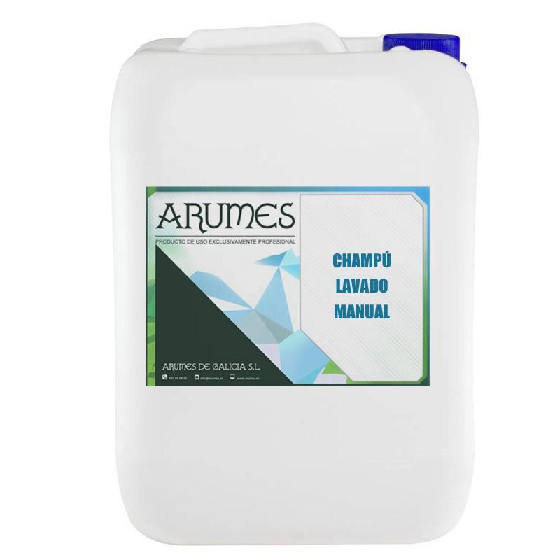 Champú para lavado manual de cohes 20 litros