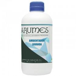 Ambientador aroma lavanda Arumes, envase 1 litro